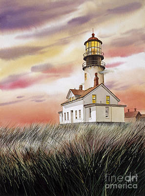 Cape Flattery Lighthouse Poster by James Williamson