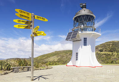 Cape Reinga Lighthouse Poster by Colin and Linda McKie