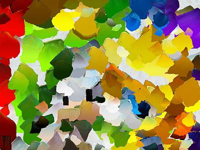 Capixart Abstract 27 Poster by Chris Axford