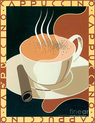 Cappuccino Poster by Brian James