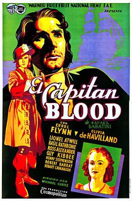 Captain Blood, Aka El Captain Blood Poster by Everett