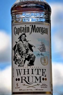 Captain Morgan White Rum Poster by Michael Frank Jr