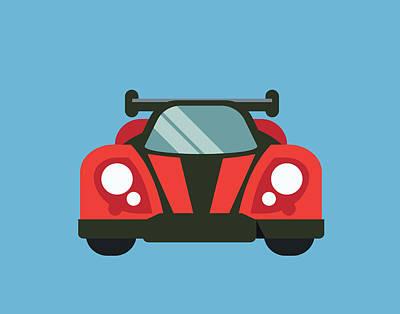 Car Iv Poster by Tamara Robinson