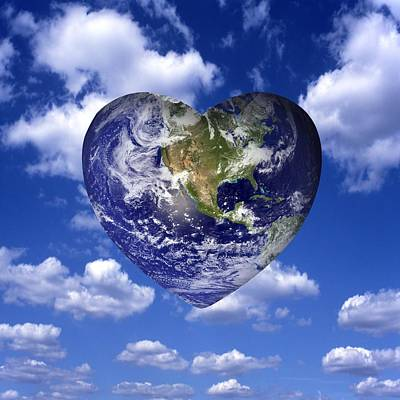 Caring For The Planet, Conceptual Poster by Science Photo Library