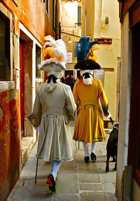 Carnevale Di Venezia Poster by Alexi Hoeft
