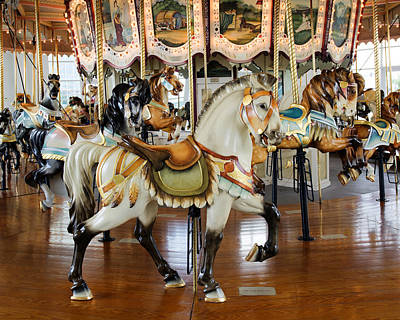 Carousel Indian Horse No. 2 Poster by Greg Hager