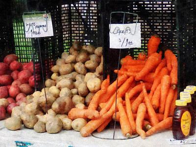 Carrots Potatoes And Honey Poster by Susan Savad