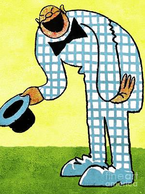 Cartoon 02 Poster by Svetlana Sewell