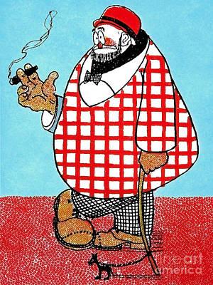 Cartoon 05 Poster by Svetlana Sewell
