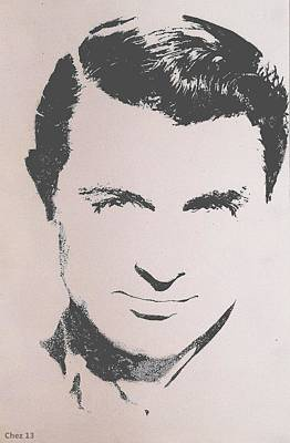 Cary Grant Poster by Cherise Foster