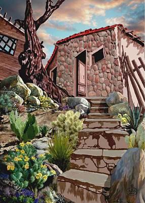Casa Tijuana Poster by Ron Chambers
