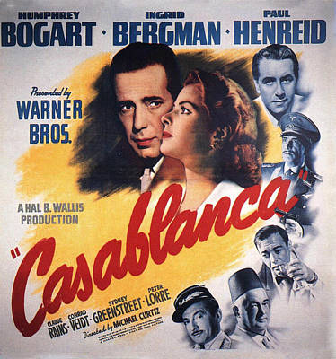 Casablanca In Color Poster by Nomad Art