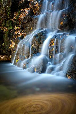 Cascade Falls #1 Poster by Geoffrey Baker
