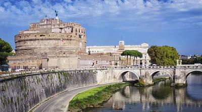 Castel Sant Angelo Poster by Joan Carroll
