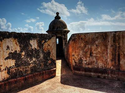 Castillo San Felipe Del Morro 005 Poster by Lance Vaughn