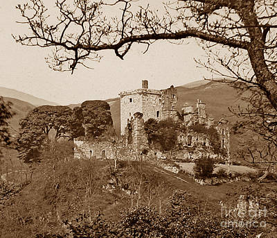 Castle Campbell Scotland Poster by The Keasbury-Gordon Photograph Archive