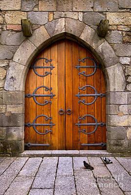 Castle Door Poster by Carlos Caetano