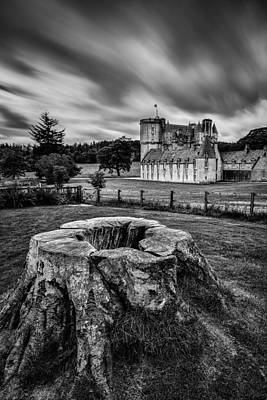 Castle Fraser Poster by Dave Bowman