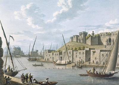Castle In The Island Of Tortosa, 1805 Poster by William Watts