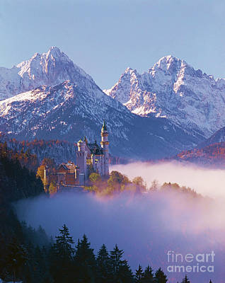 Castle Neuschwanstein, Germany Poster by Hermann Eisenbeiss