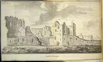 Castle Sinclair Girnigo Poster by British Library