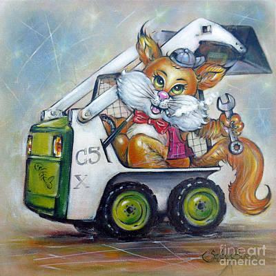 Cat C5x 190312 Poster by Selena Boron