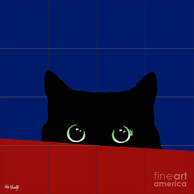 Cat Eyes Poster by Roby Marelly