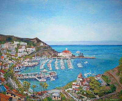 Catalina Island Poster by Teresa Dominici