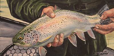Catch And Release Poster by Scott Thompson