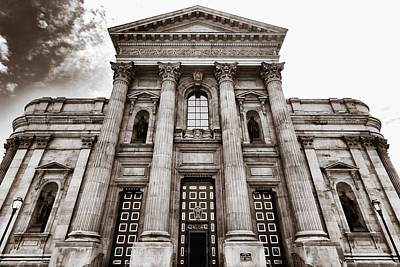 Cathedral Basilica Of Saints Peter And Paul - Philadelphia Poster by Photography  By Sai