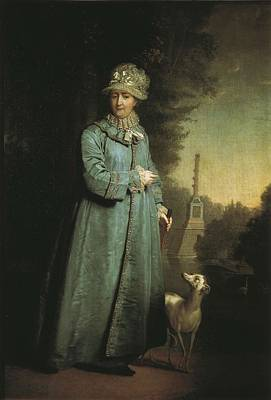 Catherine II The Great 1729-1796 Poster by Everett