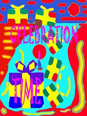 Celebration Time Poster by Patrick J Murphy