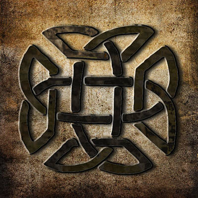 Celtic Metalwork Poster by Kandy Hurley