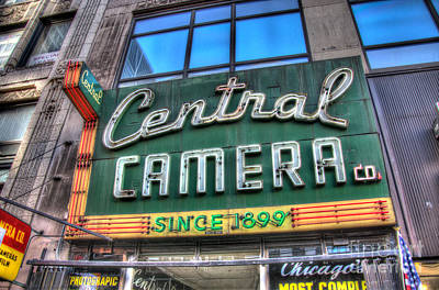 Central Camera Poster by Andrew Slater