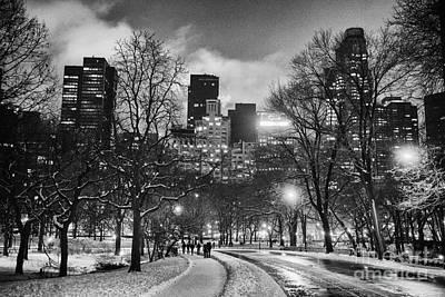 Central Park View Poster by John Farnan