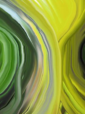Chakra-green Poster by Linnea Tober