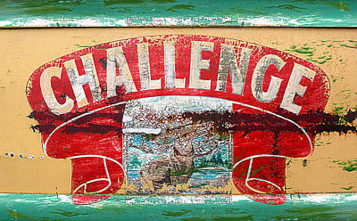Challenge Poster by Ron Regalado
