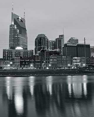 Charcoal Nashville Poster by Frozen in Time Fine Art Photography