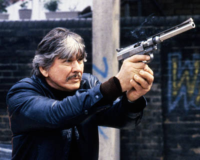 Charles Bronson In Death Wish 3  Poster by Silver Screen