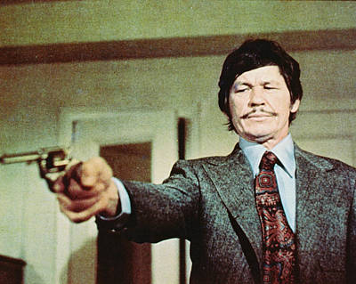 Charles Bronson In Death Wish  Poster by Silver Screen