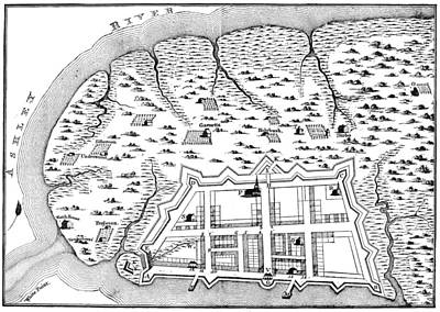 Charleston: Plan, 1704 Poster by Granger