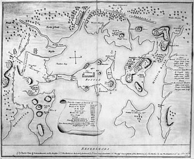 Charlestown, 1775 Poster by Granger
