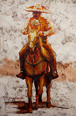 Charro Poster by Jose Espinoza