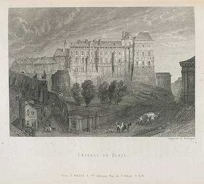 Chateau De Blois Poster by British Library