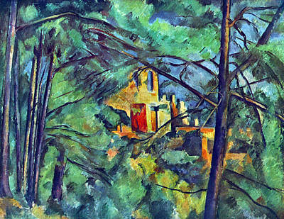 Chateau Noir By Cezanne Poster by John Peter