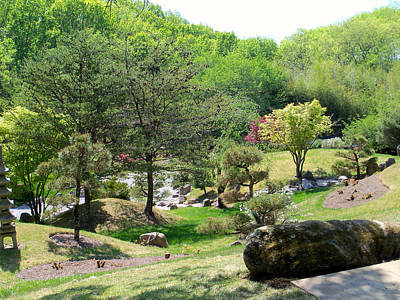 Cheekwood Japanese Garden Poster by Donna Melton