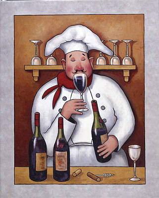 Chef 1 Poster by John Zaccheo