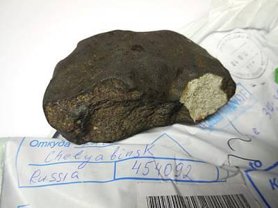 Chelyabinsk Meteor Fragment Poster by Detlev Van Ravenswaay