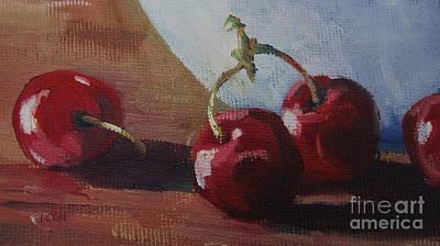 Cherries 2 Poster by John Clark