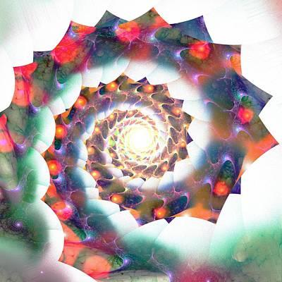 Cherry Swirl Poster by Anastasiya Malakhova